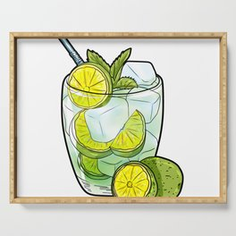 Caipirinha Serving Tray