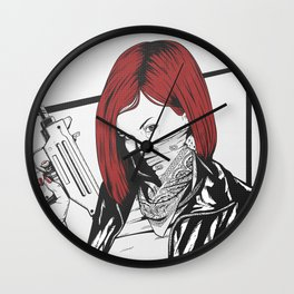 Redheads do it better ;) Wall Clock