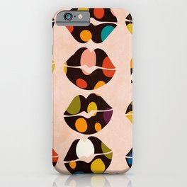 kiss me if u can iPhone Case