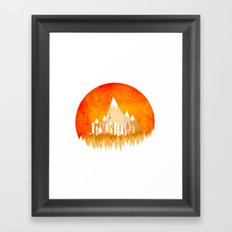 Summer XXV Framed Art Print