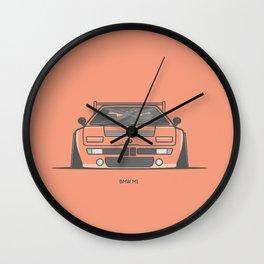M1 Race Car Wall Clock