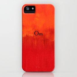 Om iPhone Case