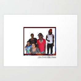 New World Ghana Art Print
