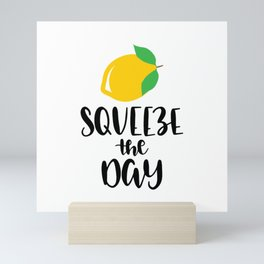 Squeeze Orange The Day Mini Art Print