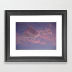Shades of Pink Framed Art Print