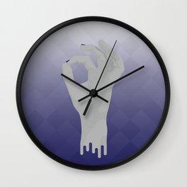 Geometric Surrealism: Okay Wall Clock