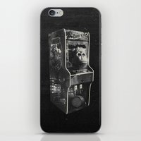 donkey kong iPhone & iPod Skins featuring DONKEY KONG ARCADE MACHINE by UNDEAD MISTER / MRCLV