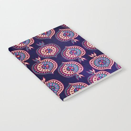 Decorative pomegranate pattern Notebook