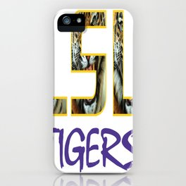 LSU NEW DECAL iPhone Case
