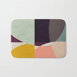 shapes abstract Bath Mat