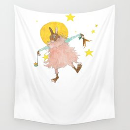Six Cups Carrots Wall Tapestry