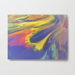 Acid Trip - Abstact Acrylic Painting Metal Print
