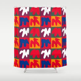 M for Matisse Shower Curtain