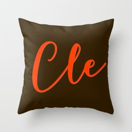 Cle Throw Pillow
