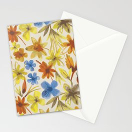 nearly Autumn in Fitzroy 1954 Stationery Cards