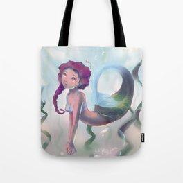 Underwater Field Tote Bag