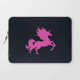 Visible Invisible Pink Unicorn Laptop Sleeve