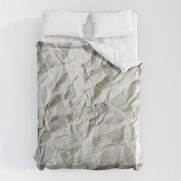 Crinkled Blues Comforters