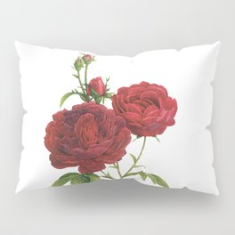 Vintage Red Rose [02] Pillow Sham