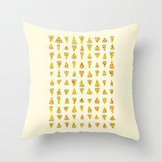 99 Slices of Za on the Wall Throw Pillow
