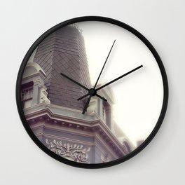 pretty city l Wall Clock