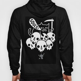 Your Soul  In the hand of Black cat Hoody