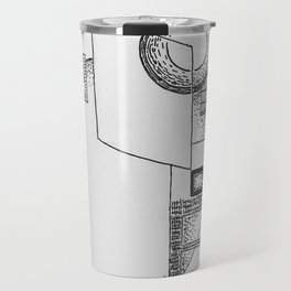 """An Unfimiliar Place"" by Mauri Travel Mug"