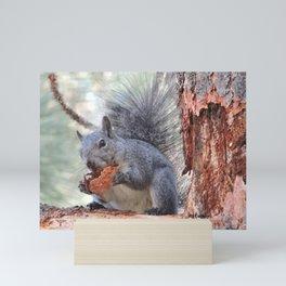 Squirrel Snack Mini Art Print