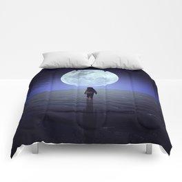 Moon alk Comforters