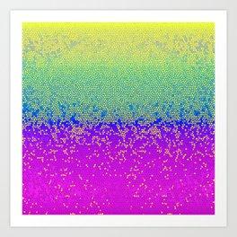 Glitter Star Dust G289 Art Print