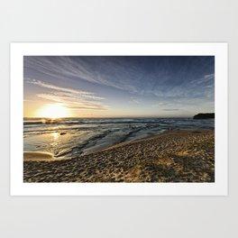 Headlands Sunrise Art Print