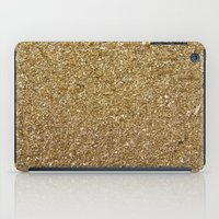 rose gold iPad Cases featuring Gold by Rose Wierts