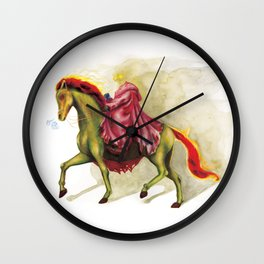 Horsemen Sleepy  Hollow  Wall Clock