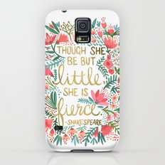 Little & Fierce Galaxy S5 Slim Case