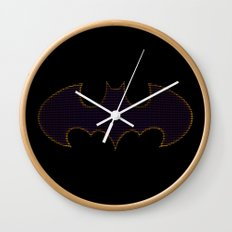 Batgirl Symbol Wall Clock