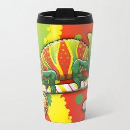 Christmas Chameleon Travel Mug