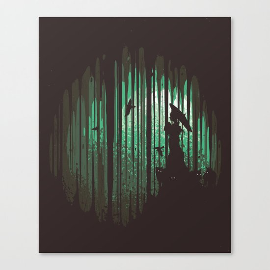 Hidden Place Canvas Print