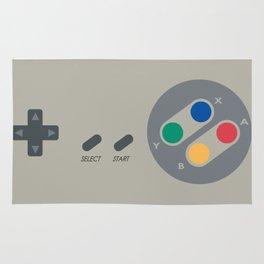 SNES controller Rug