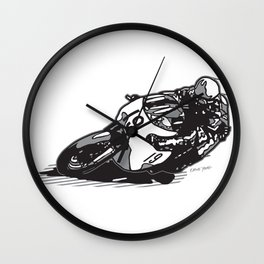 RACER 19 Wall Clock