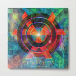 Chvrches Metal Print