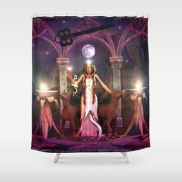 Keeper of the Flame- HEKATE Shower Curtain