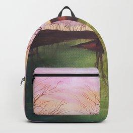 154, watercolor Backpack