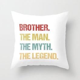 Big Brother designs for Men Throw Pillow