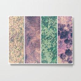 Spring Patterns Metal Print