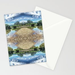 Psychedelic Swim Stationery Cards