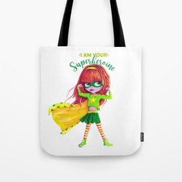 SUPERHEROINE Tote Bag