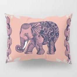 Bohemian Elephant Pillow Sham