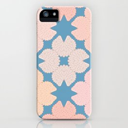 Garden Geranium Leaf Flower Pattern iPhone Case