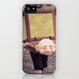 The weight of Glasto iPhone Case