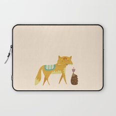 The Fox and the Hedgehog Laptop Sleeve
